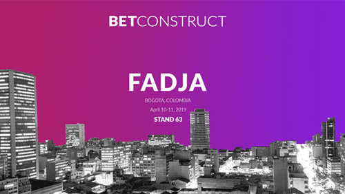 BetConstruct presents its igaming offerings at FADJA 2019