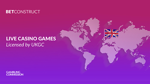 BetConstruct's live casino is granted UKGC licence
