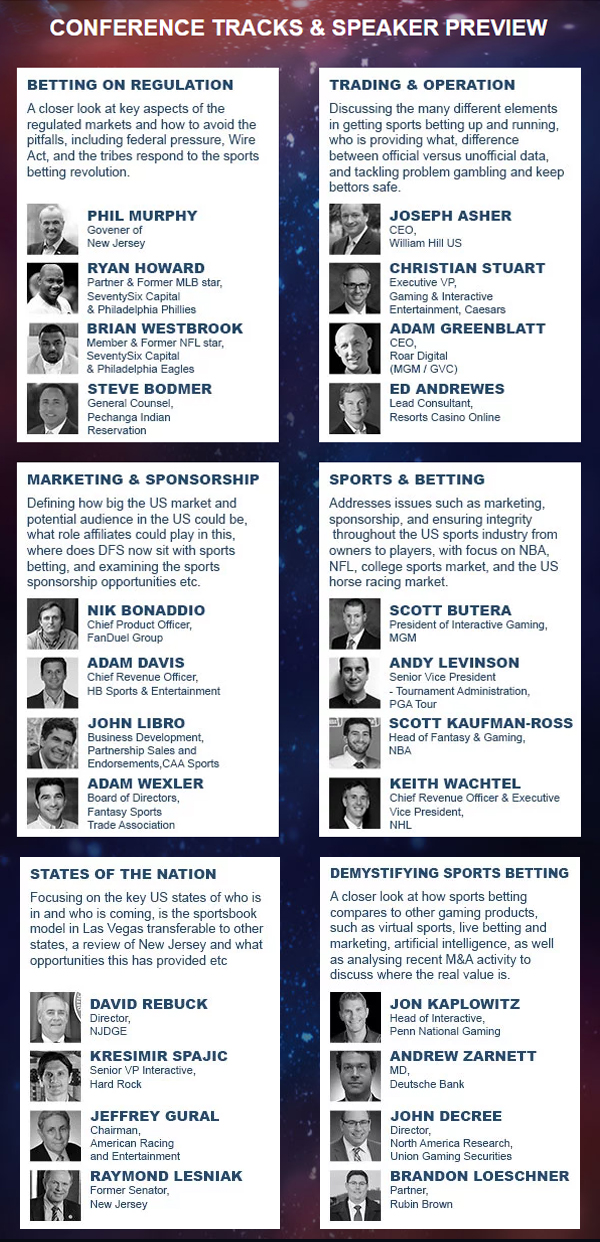 Register for the largest sports betting trade show in the US
