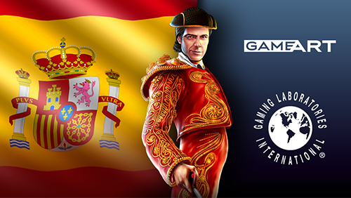 GameArt awarded Spanish GLI certification