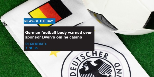 German football body warned over sponsor Bwin's online casino