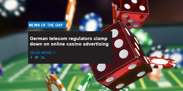 German telecom regulators clamp down on online casino advertising