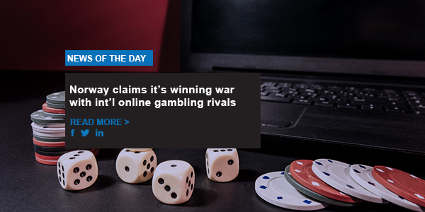 Norway claims it's winning war with int'l online gambling rivals