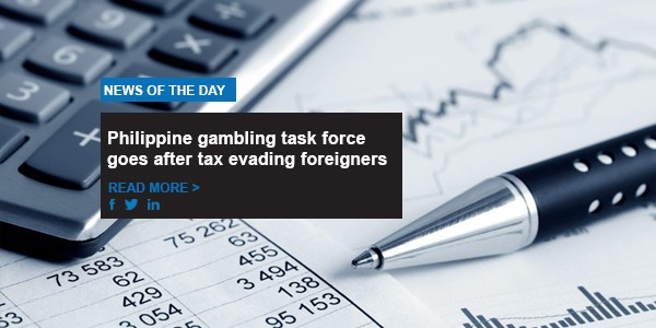 Philippine gambling task force goes after tax evading foreigners