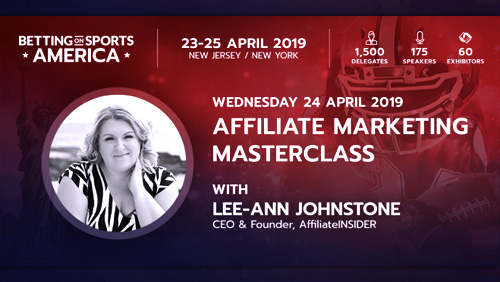 Affiliate Marketing Masterclass confirmed for Betting on Sports America