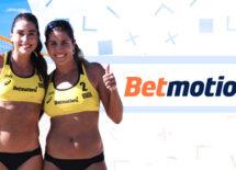 Betmotion nets Brazilian beach volleyball sponsorship deal