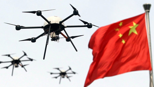 China resorts to drone use to search and destroy illegal gambling