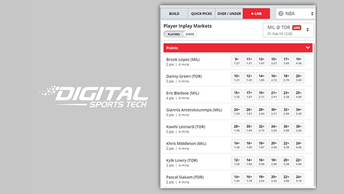 Digital Sports Tech unveils Player Props Data Feed