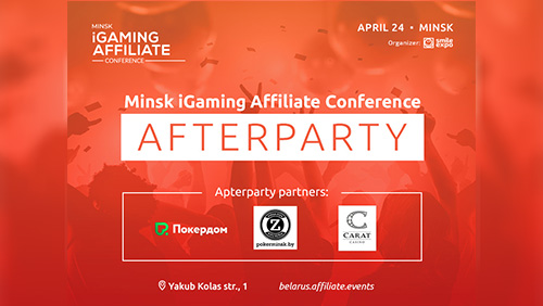 Eventful day and exciting afterparty: conference about affiliate marketing in iGaming to take place in Minsk