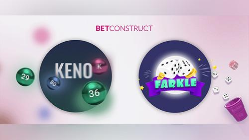 Farkle and Keno boost BetConstruct's gaming portfolio