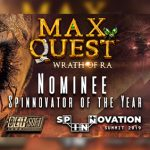 Max Quest: Wrath of Ra shortlisted for exclusive Spinnovator of the Year Award