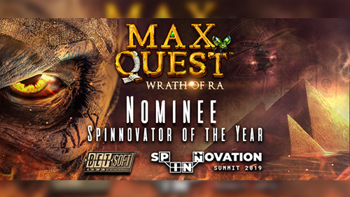 max-quest-wrath-of-ra-shortlisted-for-exclusive-spinnovator-of-the-year-award