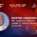 NFL's 'Great Dane' and Better Collective ambassador Morten Andersen to speak at Betting on Sports America