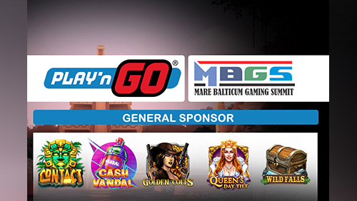 Play'n GO is the latest announced sponsor at MARE BALTICUM Gaming Summit 2019