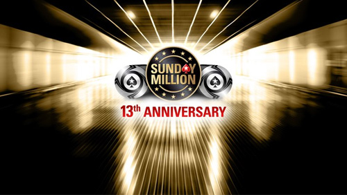 PokerStars 13th Anniversary Sunday Million a success; $75m GTD SCOOP