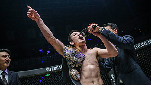 Shinya Aoki to defend ONE Lighweight World Championship against Christian Lee at ONE: Enter The Dragon