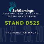 SoftGamings at G2E Asia 2019