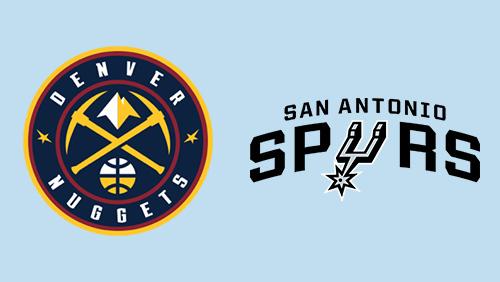 Spurs favored hosting Nuggets on Thursday NBA odds