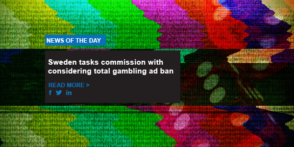 Sweden tasks commission with considering total gambling ad ban