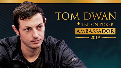 Tom 'durrrr' Dwan joins Triton Poker as a brand ambassador.