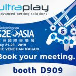 UltraPlay heads to G2E Asia, Macao with BUFF.bet's eSports betting use-case