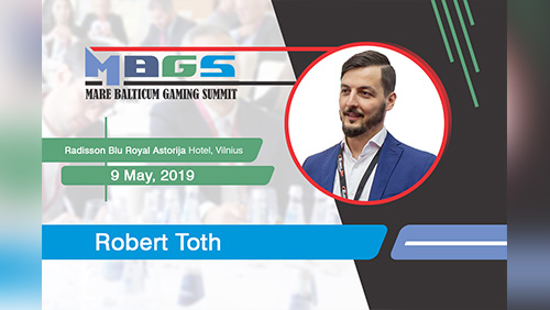 Virtual Sports with Robert Toth (Key Account Manager at Global Bet) at MARE BALTICUM Gaming Summit 2019