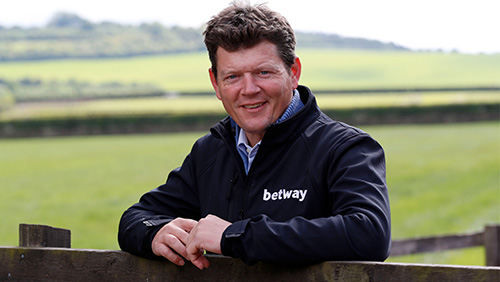Balding partners with Betway ahead of Investec Derby Festival