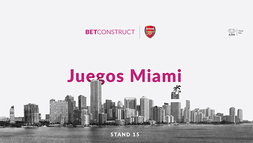 BetConstruct showcases Talisman at Juegos Miami