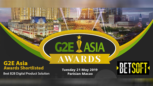 Betsoft Gaming shortlisted by G2E for Best B2B Digital Product Solution Award