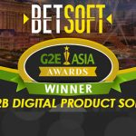 Betsoft Gaming underlines another year of achievement with G2E Asia 2019 Award win