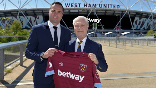 Betway renews partnership with Hammers - CalvinAyre com