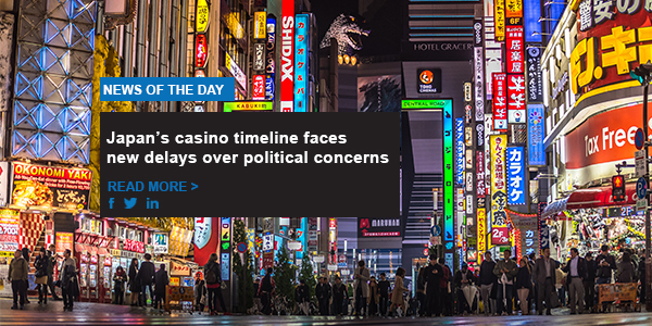Japan's casino timeline faces new delays over political concerns