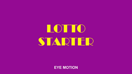 lotto-starter-platform-powered-by-eye-motion