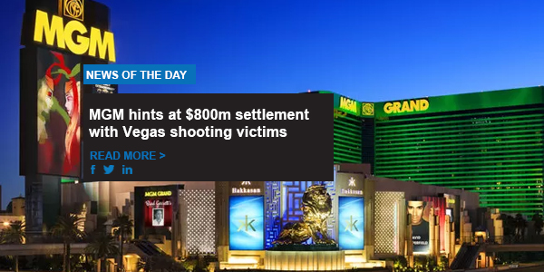 MGM hints at $800m settlement with Vegas shooting victims