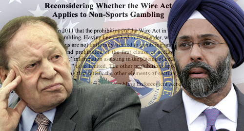 New Jersey AG sues DOJ over possible Adelson-Wire Act links