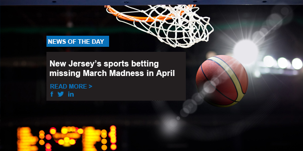 New Jersey's sports betting missing March Madness in April