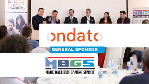 Ondato announced as General Sponsor at MARE BALTICUM Gaming Summit 2019