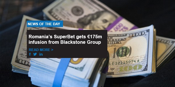 Romania's SuperBet gets €175m infusion from Blackstone Group