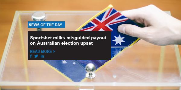 Sportsbet milks misguided payout on Australian election upset