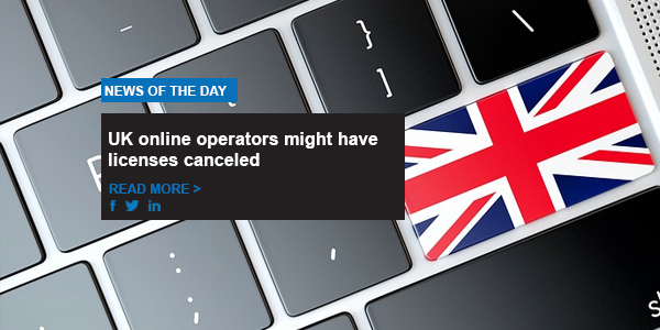 UK online operators might have licenses canceled
