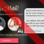 UK ad watchdog says William Hill promo too sexy for Tinder