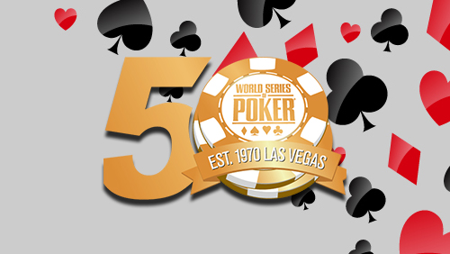 WSOP 50th anniversary: Main Event giveaway; online buy-ins, and more