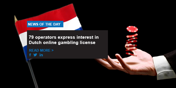 79 operators express interest in Dutch online gambling license