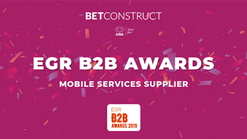 BetConstruct wins at EGR Awards 2019