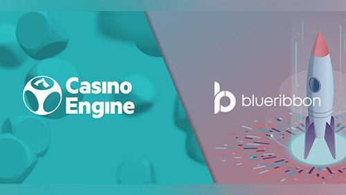 CasinoEngine partners with BlueRibbon for jackpot-based promotions