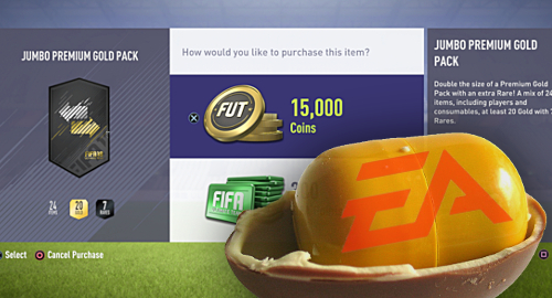 EA exec says loot boxes in video games no worse than Kinder Eggs
