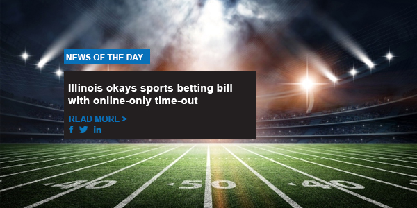 Illinois okays sports betting bill with online-only time-out