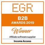Income Access wins 2019 'Affiliate Software Supplier' EGR B2B Award