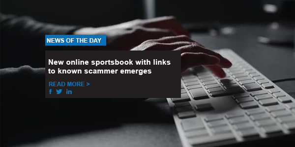 New online sportsbook with links to known scammer emerges