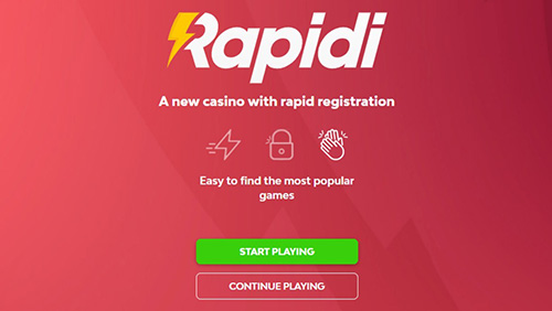 Raketech launches new consumer casino project Rapidi.com